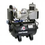 Compresor Cattani 1 Cilindro Secador de Aire 30 Litros Mod. AC100