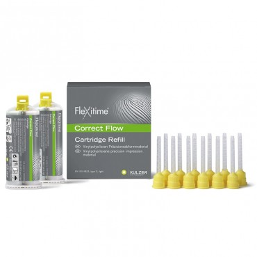 Flexitime Silicona en Cartuchos 2x50ml.