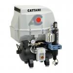 Compresor Cattani 1 Cilindro Insonorizado 30L. Mod. AC100Q
