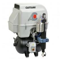 AC300Q Compresor 3 Cilindros Insonorizado Secador de Aire 45L.