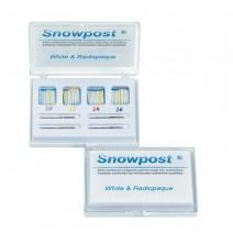 Snowpost Kit Intro Postes Blancos 20u. con Taladros