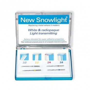 Snowlight Kit Intro Postes Blancos 20 uds con Taladros