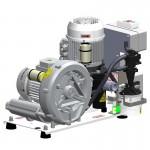 Unidad Modular Aspiración con Separador de Amalgama Turbo Jet 1