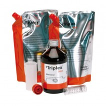 SR Triplex Hot Kit Material Termopolimerizable 1kg + 500ml.