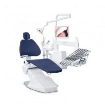 K100 KDM Equipo Dental con Aspiración Seca o Húmeda Azul Marino