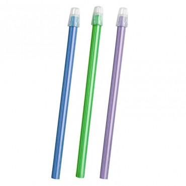 Eyectores de Saliva 15cm Colores 100 uds.
