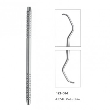 Cureta Columbia HF Silver 4R/4L Posterior Universal