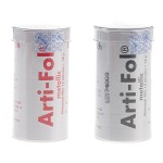Arti-Fol Metalllic Rollo BK730/BK731 Negro/Rojo Unilateral
