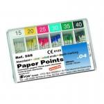 Puntas de Papel Conicidad .04 ISO 29mm Caja 120 unidades
