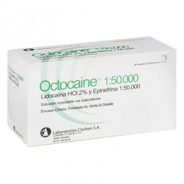 Octocaine 1:50.000 Caja 50u