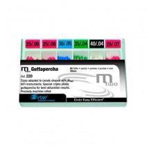 Gutapercha MTWO Conicidad .07 nº25 - 28mm Caja 60 unidades