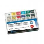 Puntas de Papel Conicidad .06 ISO 29mm Caja 120 unidades