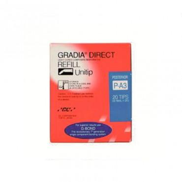 Gradia Direct Restaurador Posterior 20 Unitips 0,28gr.