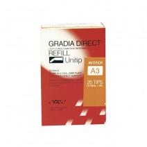 Gradia Direct Restaurador Anterior 20 Unitips 0,24gr.