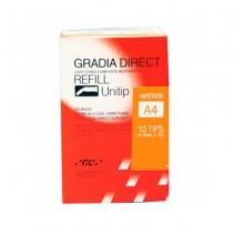 Gradia Direct Restaurador Anterior 10 Unitips 0,24gr.