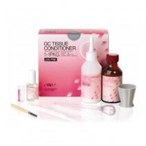 Tissue Conditioner Kit Rosa 1-1PKG Material de Rebase Polvo+Líquido