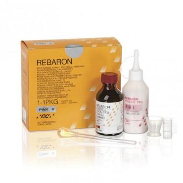 Rebaron Kit N.3 Rosa Rebase Duro 100gr +104 ml.