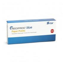 Puntas de Papel Esterilizadas para Reciproc Blue Caja 180 uds.