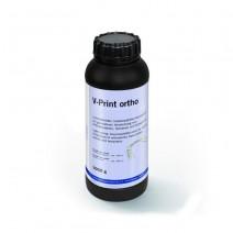 V-Print Ortho Clear Material de Impresión 3D Botella 1000g.