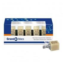 Grandio Blocs n. 14 L LT Bloque de Composite CAD/CAM 5 uds