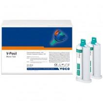 V-Posil Silicona de Adición Mono Fast Pack 10 cartuchos 50 ml.