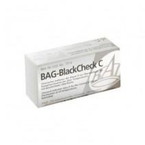Bag-Black Check C Indicador Químico de Esterilización 250 Tiras