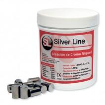 Aleación Cromo Niquel 1Kg Silver Line