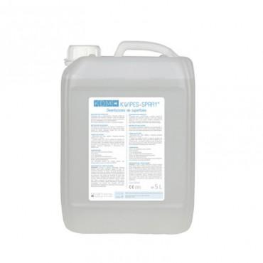 Kwipes Spray Solución Desinfectante Superficies Bidón 5 litros
