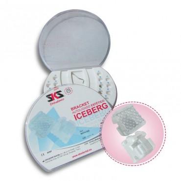 Autoligados Brackets Estéticos Pasivos Iceberg Kit 20 uds