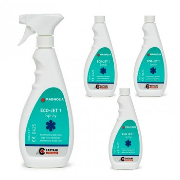 Eco-Jet 1 Spray Desinfectante Superficies 500 ml.
