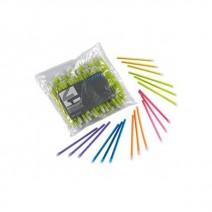 Aspiradores de Saliva de Colores 15cm