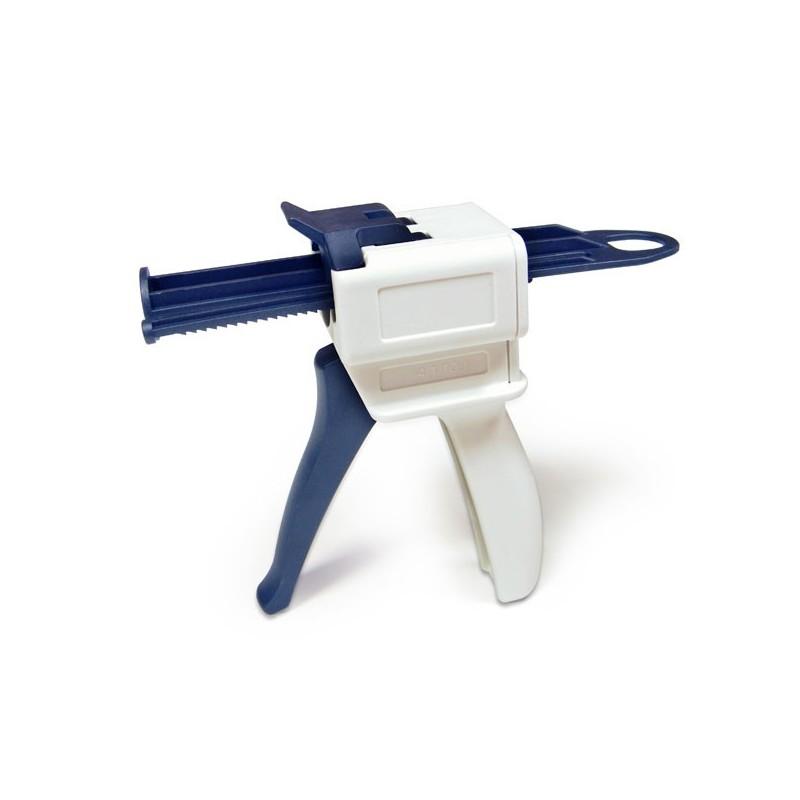 Pistola dispensadora cartuchos de silicona 4 1 y 10 1 50ml for Pistola de pegamento o de silicona