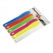 Espátulas de Mezcla de Nylon en Colores 6Uds