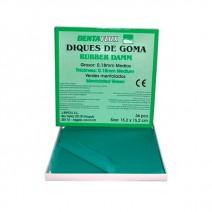 Diques de Goma Mentolado Dentaflux 36u.