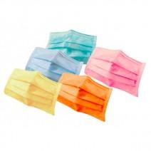 Mascarillas Rectangulares Varios Colores 50 Unidades
