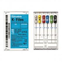 Limas K para Endodoncia 21mm. 6 Unidades