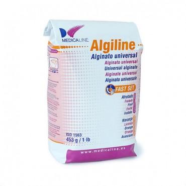 Alginato Algiline para Impresión Naranja Sabor Frutas