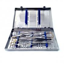 Set Instrumental Básico de Cirugía de Implantes