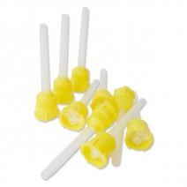 Puntas Mezcladoras Amarillas 50u