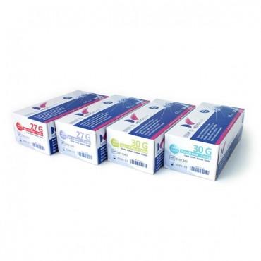 Agujas Dentales Estériles Medicaline 100u