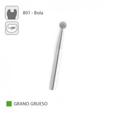 Fresa Diamante Bola 801 Grano Grueso FG