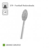 Fresa Diamante Football Redondeada 379 Grano Grueso FG