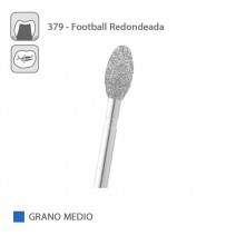 Fresa Diamante Football Redondeada 379 Grano Medio FG