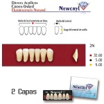 Dientes Acrílicos Newcryl Inferiores Color A1