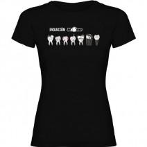 Camiseta para Dentista - Evolución Molar Chica