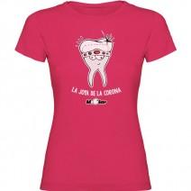 Camiseta para Odontóloga Joya de la Corona Chica