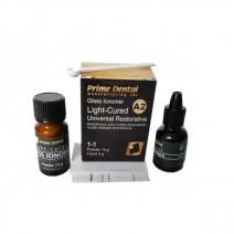 Ionómero de vidrio A2 Light Cure Cemento 15 gr. + 8 gr.