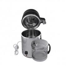 Destilador Eléctrico en Inox y Vidrio