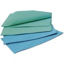 Servilletas Medicaline 500/u verde/azul
