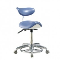 Stool Chair Taburete con Respaldo Clínca Dental
